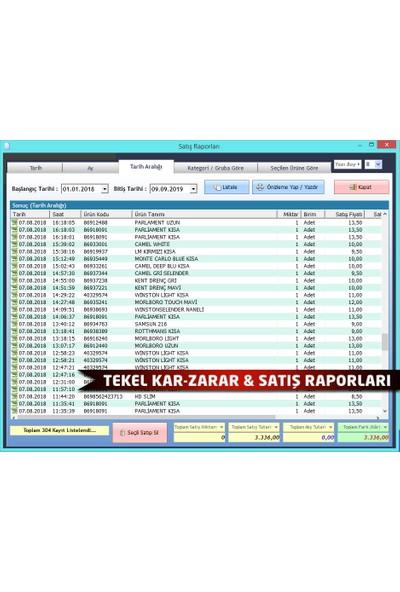 Demirsoft Barkodlu Market Satış Programı (Barpro Paket)