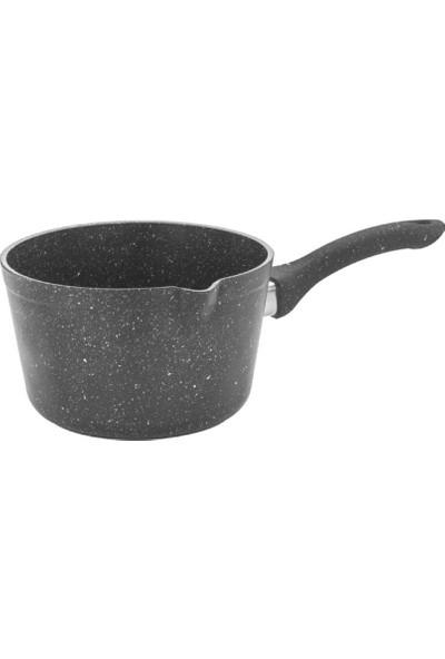 Hascevher Granit 14 cm Oluklu Sosluk Kapaksız