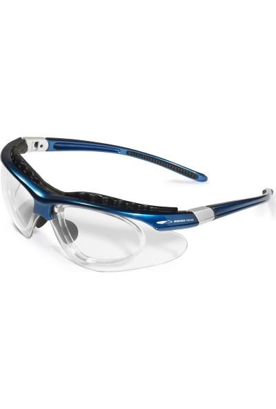 Swissone Equinox Numaralı Cam Takılabilen İş Gözlüğü Şeffaf Lens