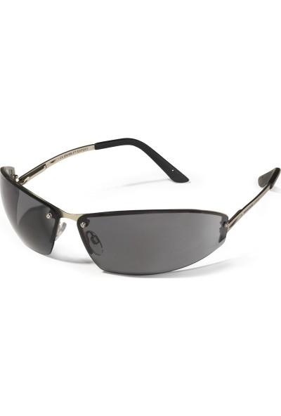 Swissone Expert Metal Saplı Füme İş Gözlüğü