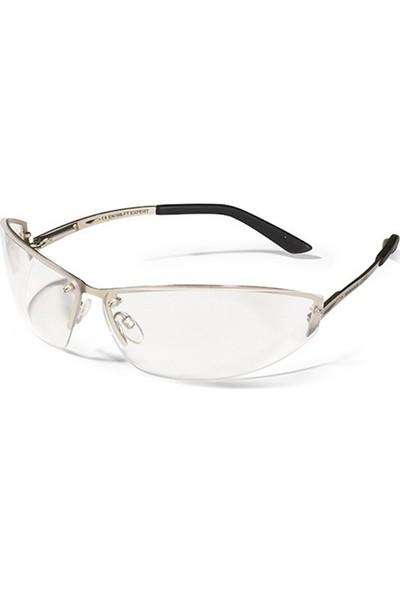 Swissone Expert Metal Saplı Şeffaf İş Gözlüğü