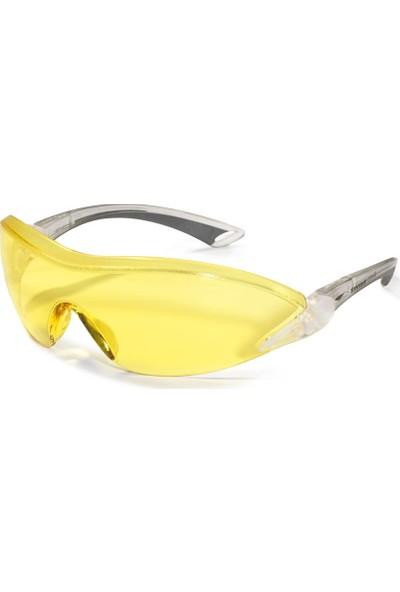 Swissone Falcon Sarı İş Gözlüğü