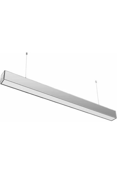 Lambaled Lineer Led Sarkıt 30W 6500K Beyaz Işık Gri Kasa 120 cm