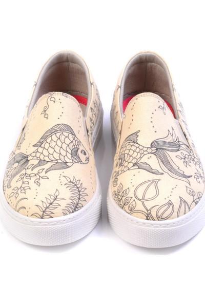 Goby VN4502 Bej Kadın Ayakkabı