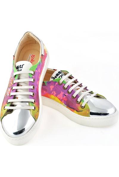 Goby GOB204 Gümüş Kadın Ayakkabı