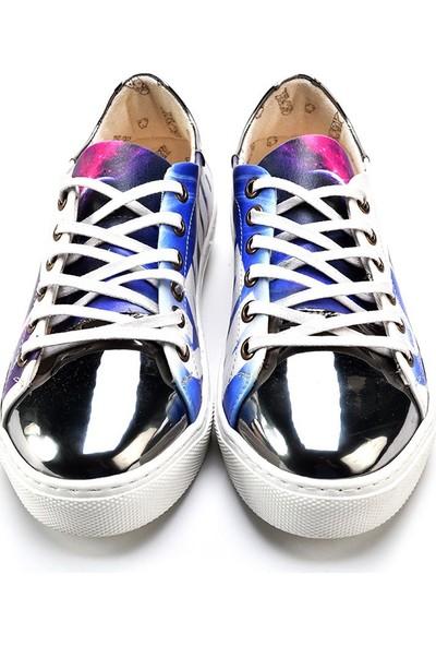 Goby GOB211 Gümüş-Mavi Kadın Ayakkabı