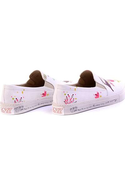 Goby VN4902 Bej Kadın Ayakkabı