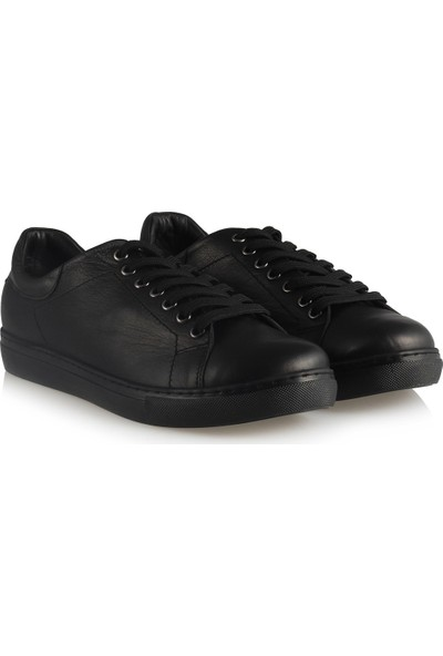 37 Numara Hakiki Deri Comfort Siyah Ayakkabı 41