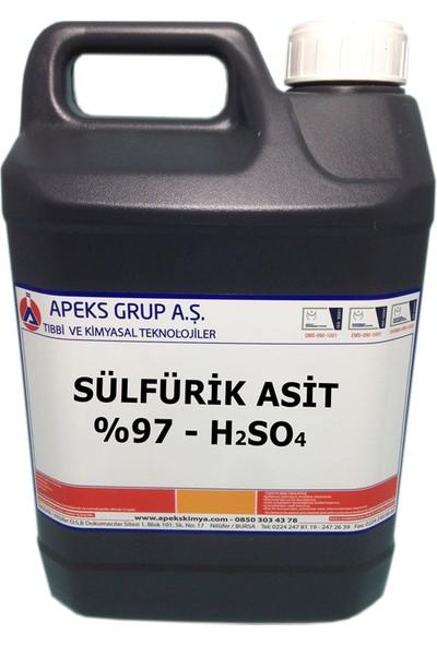 Apeks Sülfürik Asit %97 H2SO4 5 kg