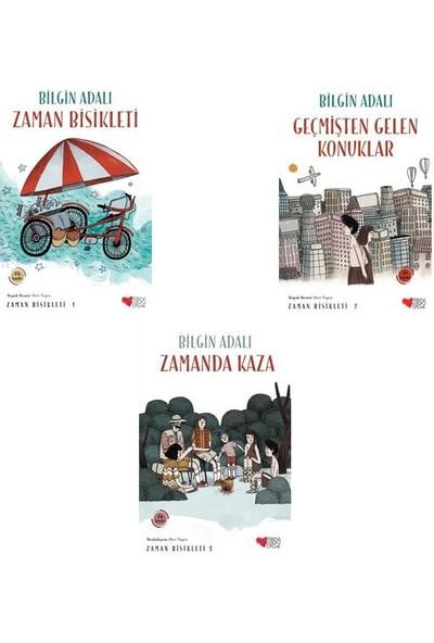 Bilgin Adalı Zaman Bisikleti Seti - 3 Kitap