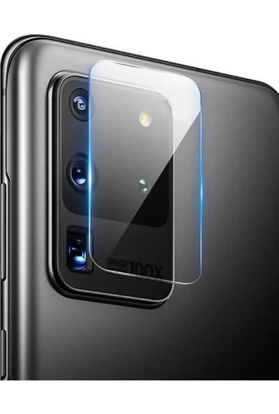 Coverzone Samsung Galaxy S20 Plus Kamera Koruyucu - Nano Glass