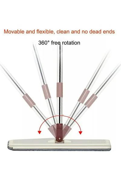 Spin Tablet Mop Microfiber Paspas Sihirli Temizlik Seti + 3 Adet Bez
