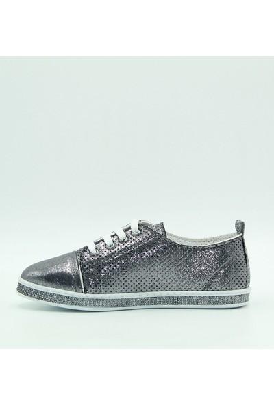 Park Moda Kadın Günlük Ayakkabı 54-201 Platin