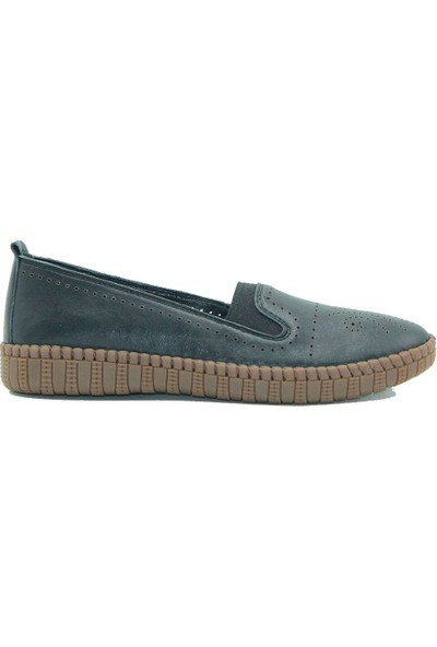 Stella Kadın Deri Günlük Ayakkabı 20204 Siyah