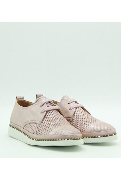 Stella Kadın Deri Günlük Ayakkabı 20234 Pudra
