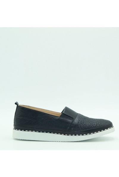 Stella Kadın Deri Günlük Ayakkabı 20238 Siyah