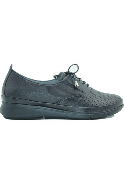 Stella Kadın Deri Günlük Ayakkabı 20257 Siyah