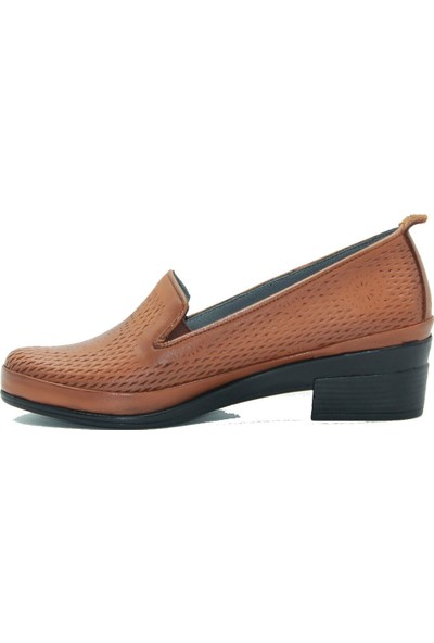 Stella Kadın Deri Ayakkabı 20260 Taba