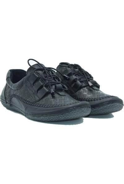 Stella Kadın Deri Günlük Ayakkabı 20320 Siyah
