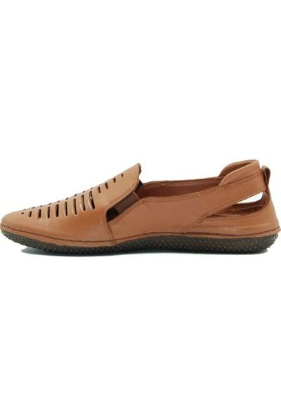 Stella Kadın Deri Günlük Ayakkabı 20321 Taba