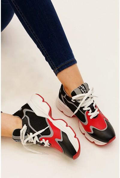 Marjin Kadın Bozve Dolgu Günlük Sneaker