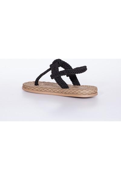 Muggo RYMW616 Kadın Hasır Sandalet