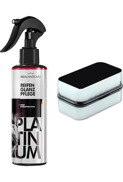 Brillantcare Platinum Lastik Parlatıcı 2 Taraflı Uyfulama Süngeri 428296