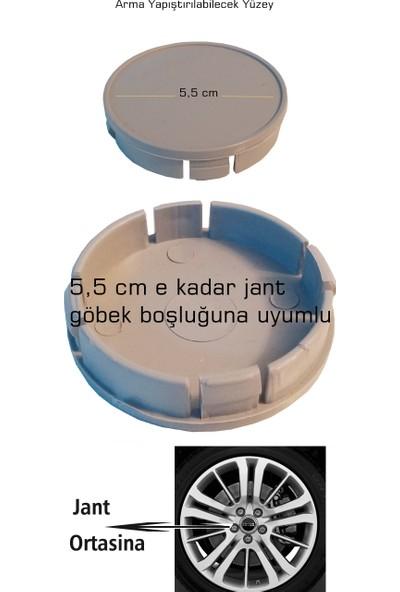 Modacar 2 Yedekli 5.5 cm Jant Göbek Kapağı 428453