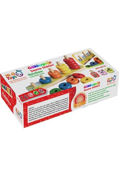 Hi-Q Toys Gökkuşağı Sayma Diskleri