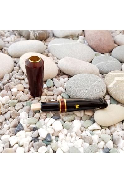 Şahin Gül Ağacı Normal Sigara Ağızlığı