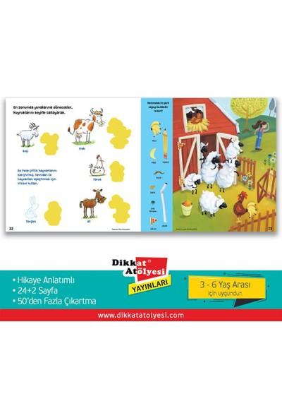 Sticker Bulmacalı Hikayeler 3-6 Yaş Eğlenceli Etkinlik Kitabı - 4'lü Set