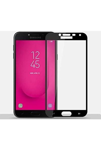 Concord Samsung Galaxy J4 Ekran Koruyucu 21D Kırılmaz Cam Tam Kaplamalı