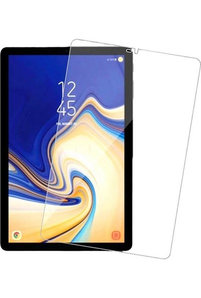 """Engo Samsung Galaxy Tab S4 SM-T830 SM-T837 10.5"""" Temperli Cam Tablet Ekran Koruyucu - Şeffaf"""