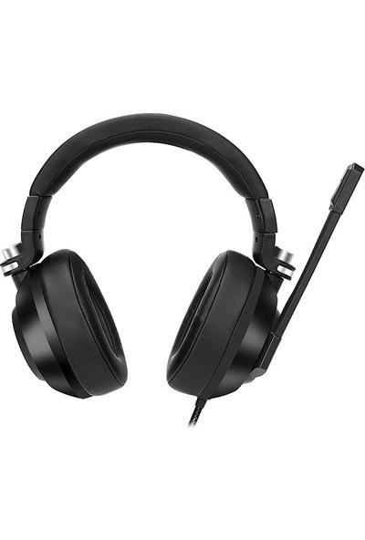 Rampage RM-K20 Amaze Siyah USB 7.1 Noice Cancelling Mic RGB Ledli Oyuncu Mikrofonlu Kulaklık