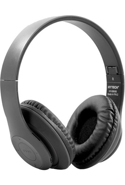 Hytech HY-XBK85 TF Kart Özellikli Siyah Bluetooth Kulaklık