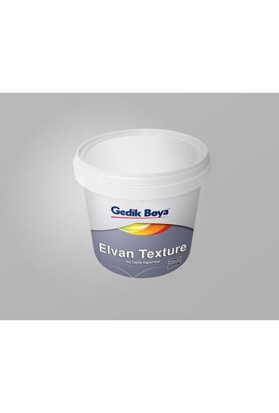 Gedik Boya Elvan Silikonlu Textüre 25 kg Beyaz