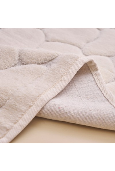 Alanur Home Antik Cotton 2'li Paspas Krem