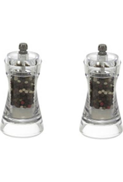 Herevin 181001-100 2li Tuz-Karabiber Değirmeni