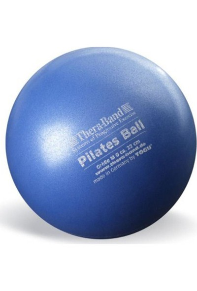 Thera-Band Pilates Topu (Pılates Ball) 22CM Mavi