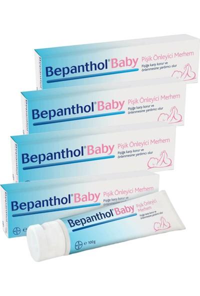 Bepanthol Baby Pişik Önleyici Merhem 100 gr 4 Adet