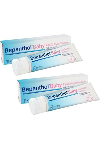 Bepanthol Baby Pişik Önleyici Merhem 100 gr 2 Adet