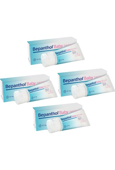 Bepanthol Baby Pişik Önleyici Merhem 50 gr 4 Adet
