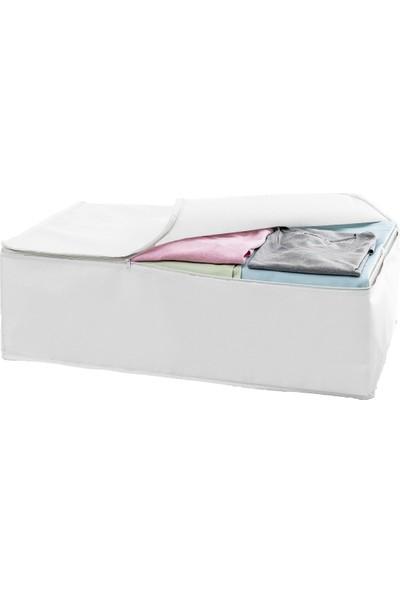 Favore Casa Baza Hurç Baza ve Çekyat Hurcu Midi 60X45X20 cm Beyaz