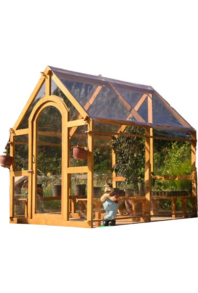 Mandu Green House, Ahşap Sera