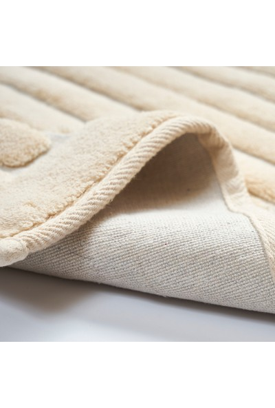 Alanur Home Mikonos Cotton 2'li Paspas Cappuccino