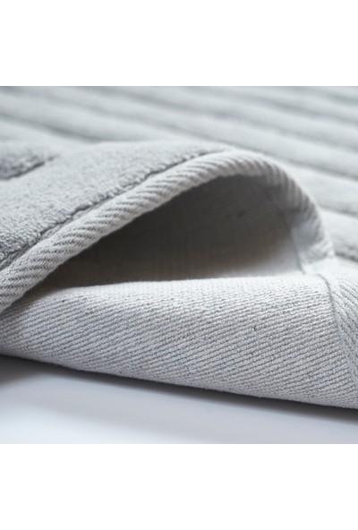 Alanur Home Mikonos Cotton 2'li Paspas Gri