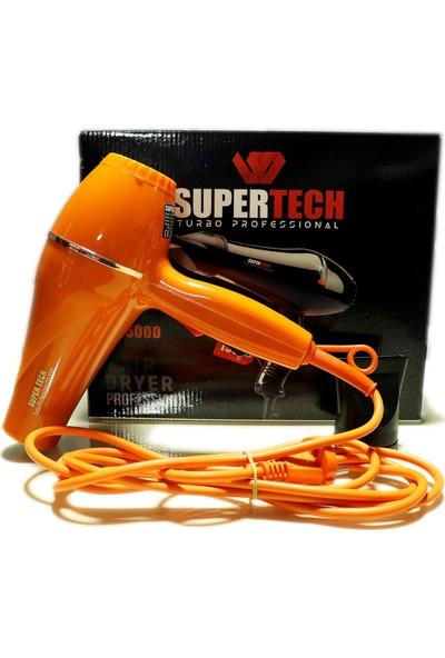 Supertech OS-5000 Profesyonel Fön ve Saç Kurutma Makinesi Turuncu