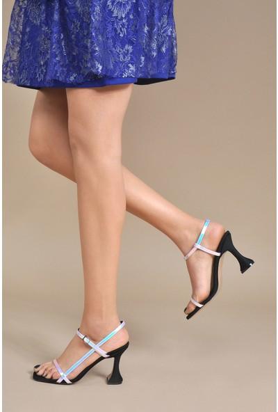 Vizon Ayakkabı Kadın Lila Klasik Topuklu Ayakkabı VZN20-052Y