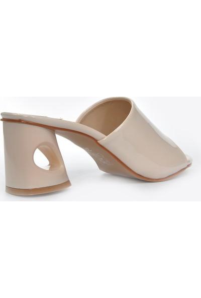 Vizon Ayakkabı Kadın Ten-Rugan Terlik VZN20-026Y