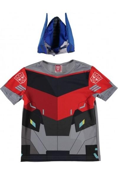 Transformers Optimus Prime Yazlık T-Shirt 7-9 Yaş